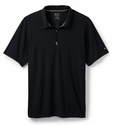 Oakley SI 1/4 Zip Polo, Jet Black
