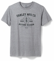 Oakley SI Athletic O Tee, Heather Grey