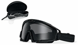 Oakley SI Ballistic Goggle 2.0 Array with Black Frame and Clear and Gray Lenses