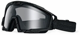 Oakley SI Ballistic Goggle 2.0 with Black Frame and Clear Lens