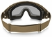 Oakley SI Ballistic Goggle 2.0 with Bone Frame and Gray Lens