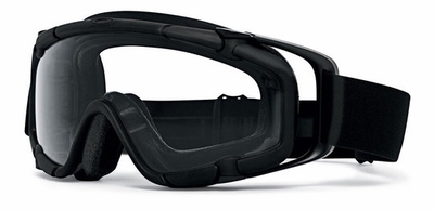 Oakley SI Ballistic Goggle with Black Frame and Clear Lens