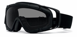 Oakley SI Ballistic Goggle with Black Frame and Gray Lens