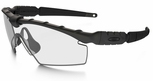 Oakley SI Ballistic M Frame 2.0 Strike with Black Frame and Clear Lens