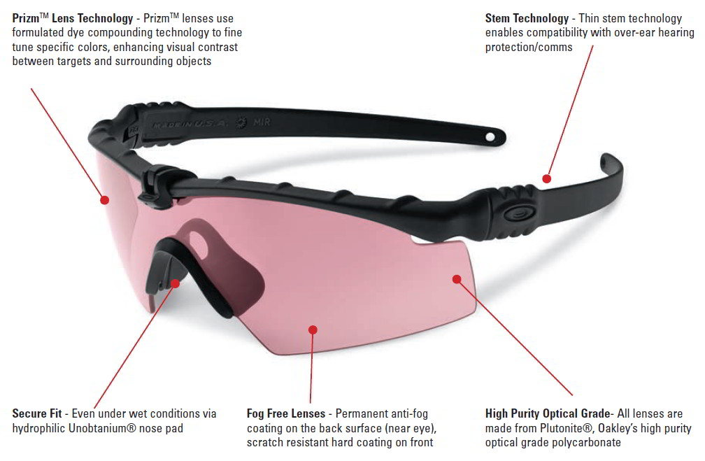 Oakley Si Ballistic M Frame 3 0 Ce Array With Black Frame