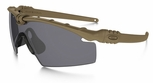 Oakley SI Ballistic M Frame 3.0 with Dark Bone Frame and Grey Lens