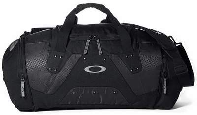 Oakley SI Black Large Carry Duffel Bag
