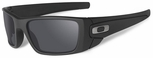 Oakley SI Cerakote Fuel Cell with Graphite Black Frame and Black Iridium Lens