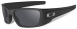 Oakley SI Cerakote Fuel Cell with Graphite Black Frame and Black Iridium Polarized Lens