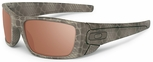 Oakley SI Cerakote Fuel Cell with Ultrablend Desert Frame and VR28 Black Iridium Polarized Lens