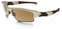 Oakley SI Flak Jacket XLJ Sunglasses with Desert Frame and Bronze Polarized Lenses