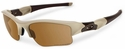 Oakley SI Flak Jacket XLJ with Desert Frame and Bronze Polarized Lenses