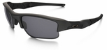 Oakley SI Flak Jacket XLJ with Matte Black Frame and Grey Lens