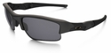 Oakley SI Flak Jacket XLJ Sunglasses with Matte Black Frame and Grey Polarized Lenses