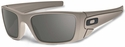 Oakley SI Fuel Cell with Desert Sage Cerakote Frame and Warm Gray Lens