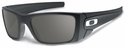 Oakley SI Fuel Cell with Graphite Cerakote Frame and Warm Gray Lens