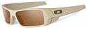 Oakley SI Gascan Sunglasses with Desert Frame and Bronze Lens