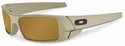 Oakley SI Gascan with Desert Sage Cerakote Frame and Tungsten Iridium Polarized Lens