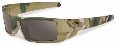 Oakley SI Gascan Sunglasses with Multicam Frame and Warm Gray Lenses