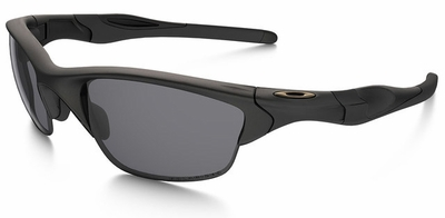 Oakley SI Half Jacket 2.0 Sunglasses with Matte Black Frame and Grey Lens