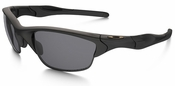 Oakley SI Half Jacket 2.0 Sunglasses with Matte Black Frame and Grey Polarized Lenses