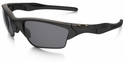 Oakley SI Half Jacket 2.0 XL Sunglasses with Matte Black Frame and Grey Lens