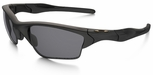 Oakley SI Half Jacket 2.0 XL Sunglasses with Matte Black Frame and Grey Polarized Lenses
