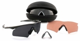 Oakley SI M Frame Hybrid Array with Black Frame and Clear, Gray, and VR28 lenses
