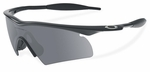 Oakley SI M Frame Hybrid with Black Frame and Grey Lens