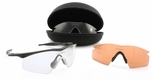 Oakley SI M Frame Strike Array with Black Frame and Clear, Gray, and VR28 lenses