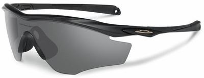 Oakley SI M2 Frame Sunglasses with Matte Black Frame and Black Iridium Lens