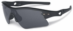 Oakley SI Radar Range with Matte Black Frame and Grey Lens