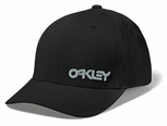 Oakley SI Small Factory Pilot Flex Fit Cap, Black