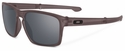 Oakley Sliver Sunglasses with Matte Grey Ink Frame and Black Iridium Lenses