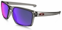 Oakley Sliver with Grey Smoke Frame and Red Iridium Polarized Lens