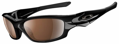 Oakley Straight Jacket Sunglasses with Polished Black Frame and VR28 Black Iridium Lens