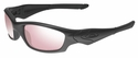 Oakley Straight Jacket with Matte Black Frame and Prizm TR45 Titanium Iridium Lens