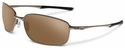 Oakley Taper Sunglasses with Tungsten Frame and Tungsten Iridium Polarized Lenses