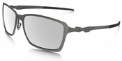 Oakley Tincan Sunglasses with Carbon Frame and Chrome Iridium Polarized Lenses