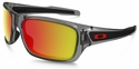 Oakley Turbine with Grey Ink Frame and Ruby Iridium Polarized Lens