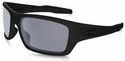 Oakley Turbine with Matte Black Frame and Grey Polarized Lens