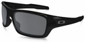 Oakley Turbine with Polished Black Frame and Black Iridium Polarized Lens