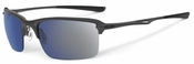 Oakley Wiretap Sunglasses with Carbon Frame and Ice Iridium Lens