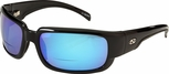 ONO'S Araya Polarized Bifocal Sunglasses with Black Frame and Blue Mirror Lens