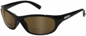 ONO'S Carabelle Polarized Bifocal Sunglasses with Black Frame and Amber Lens