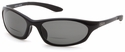 ONO'S Grand Lagoon Polarized Bifocal Sunglasses with Black Frame and Gray Lens