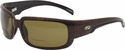 ONO'S Loon Polarized Bifocal Sunglasses with Brown Plaid Frame and Amber Lens