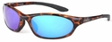 ONO'S Ocracoke Polarized Sunglasses Tortoise Frame and Blue Mirror Lens