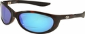 ONO'S Sand Island Polarized Bifocal Sunglasses Dark Tortoise Frame and Blue Mirror Lens