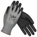 PIP G-Tek Gray Cut-Resistant Gloves with Polyurethane Grip and HPPE Liner